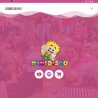 Songs and clips for children - Minidisco - Homepage