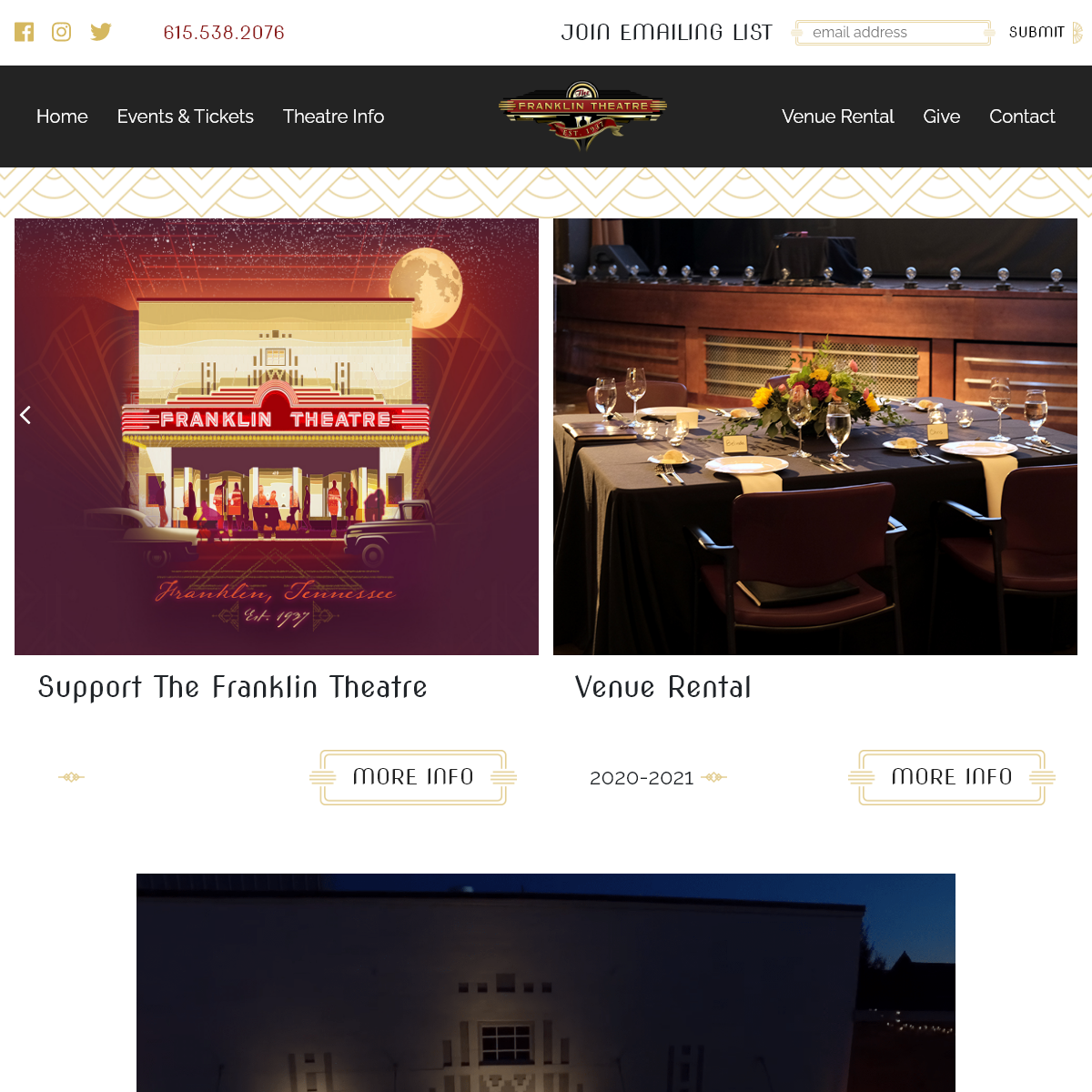 Home - Franklin-Theatre