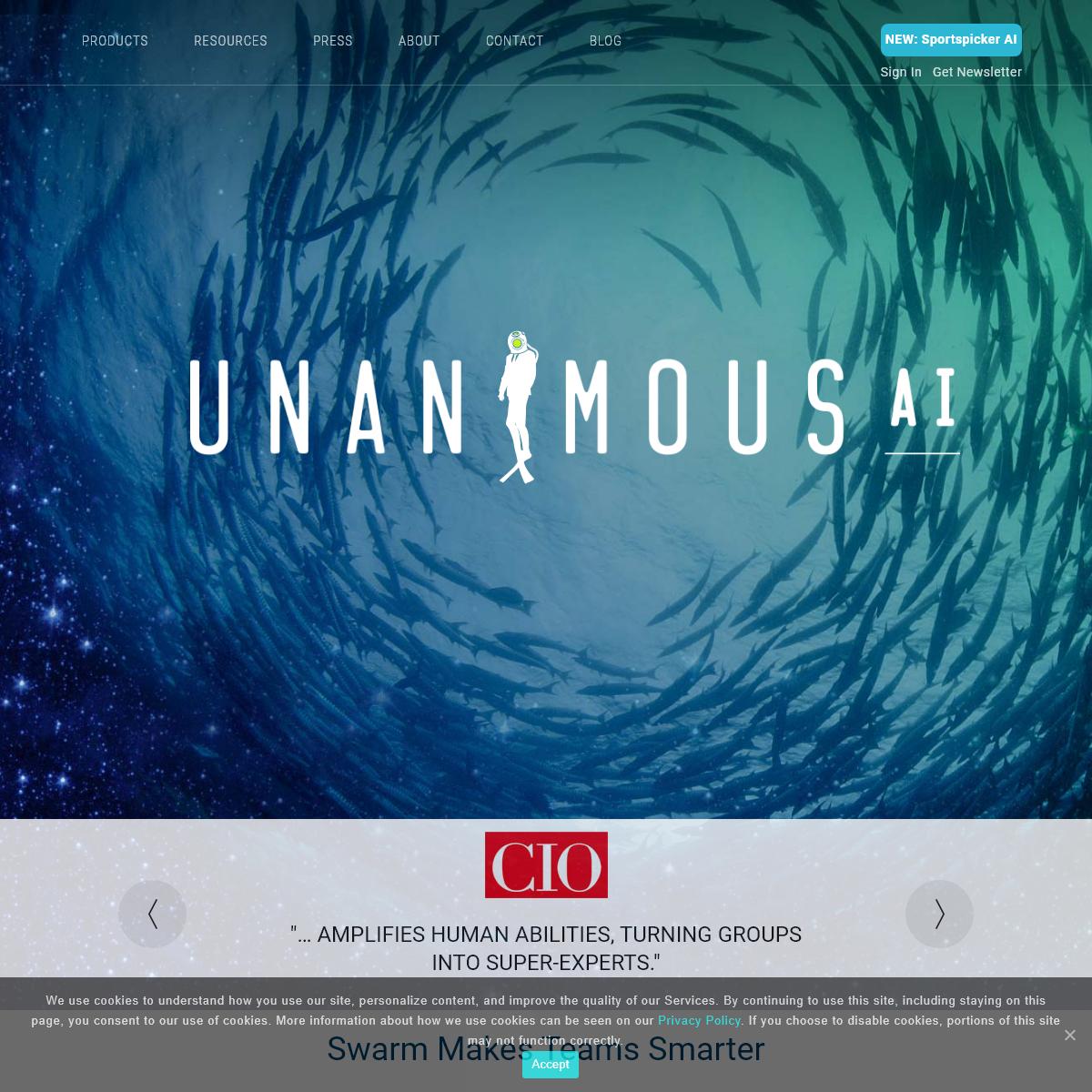 UNANIMOUS AI - We Amplify Intelligence