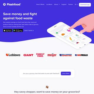 Flashfood - Save money and reduce food waste