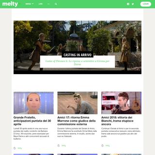 melty - Attualità e tendenze - community per giovani