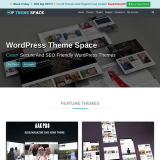 WordPress Theme Space For quality WordPress Themes
