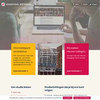Hogeschool Rotterdam - Overtref jezelf met een van onze opleidingen - Hogeschool Rotterdam