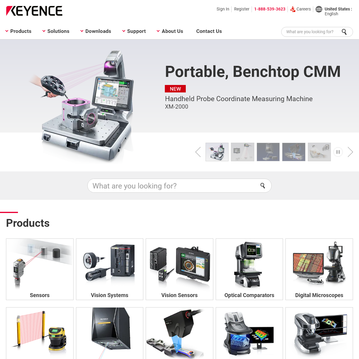 Sensors and Machine Vision Systems for Factory Automation - KEYENCE America