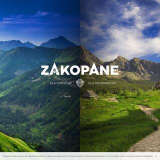 Strona główna - Zakopane - oficjalny serwis internetowy