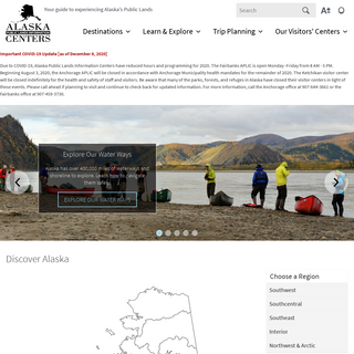 Alaska Centers - Your guide to experiencing Alaska`s Public Lands