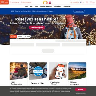OUI.sncf - Réservez vos billets SNCF (Voyages-sncf.com)