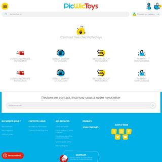 PicWicToys - Jouets, loisirs créatifs enfant, puériculture