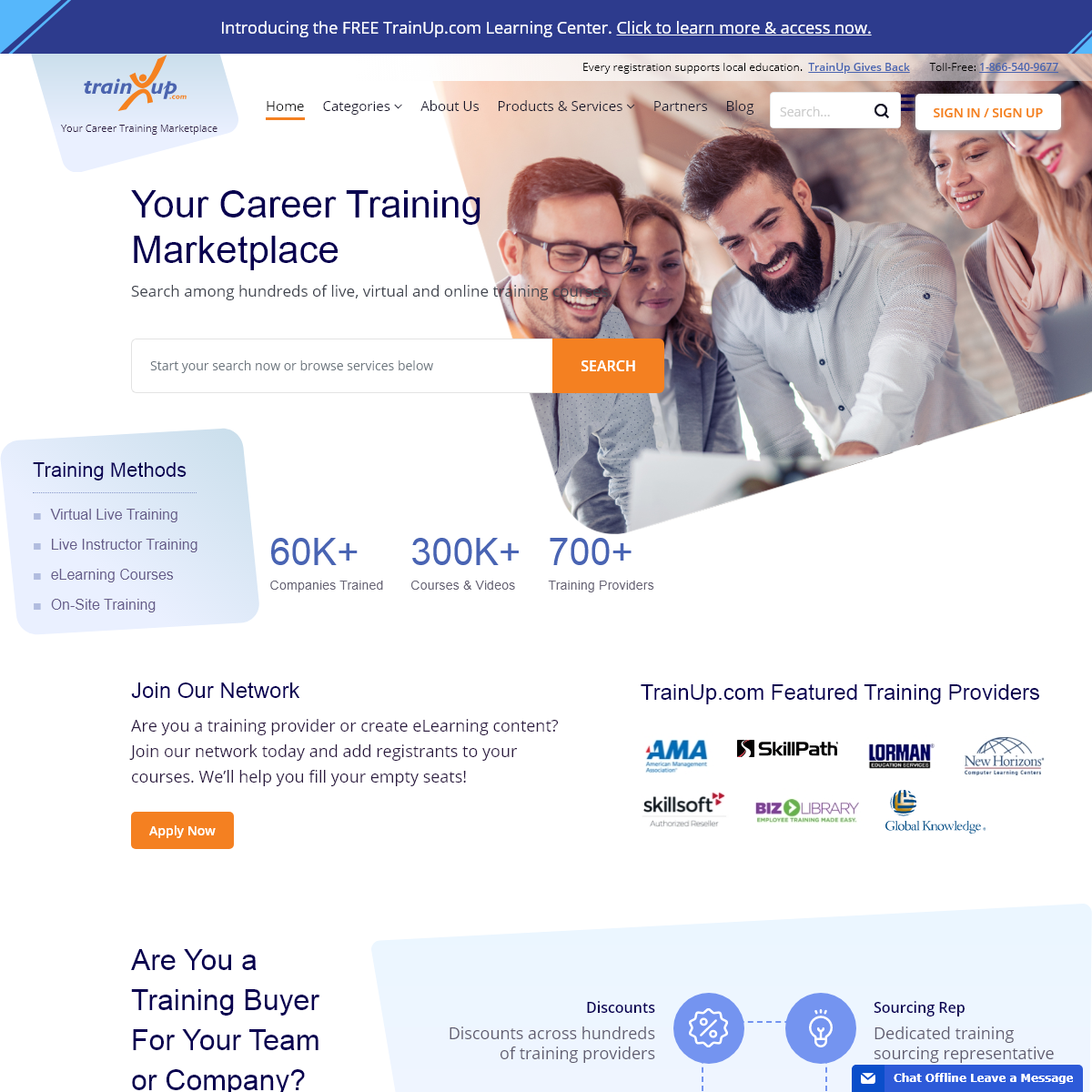 TrainUp.com - Find Career Training Courses and Seminars - Custom and Express LMS and Performance Management Solutions