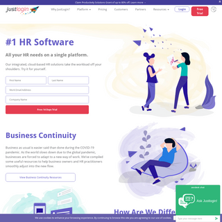 Singapore HR Management Software - HRM system - JustLogin