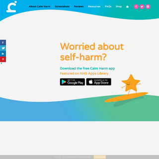 Home - Calm Harm App