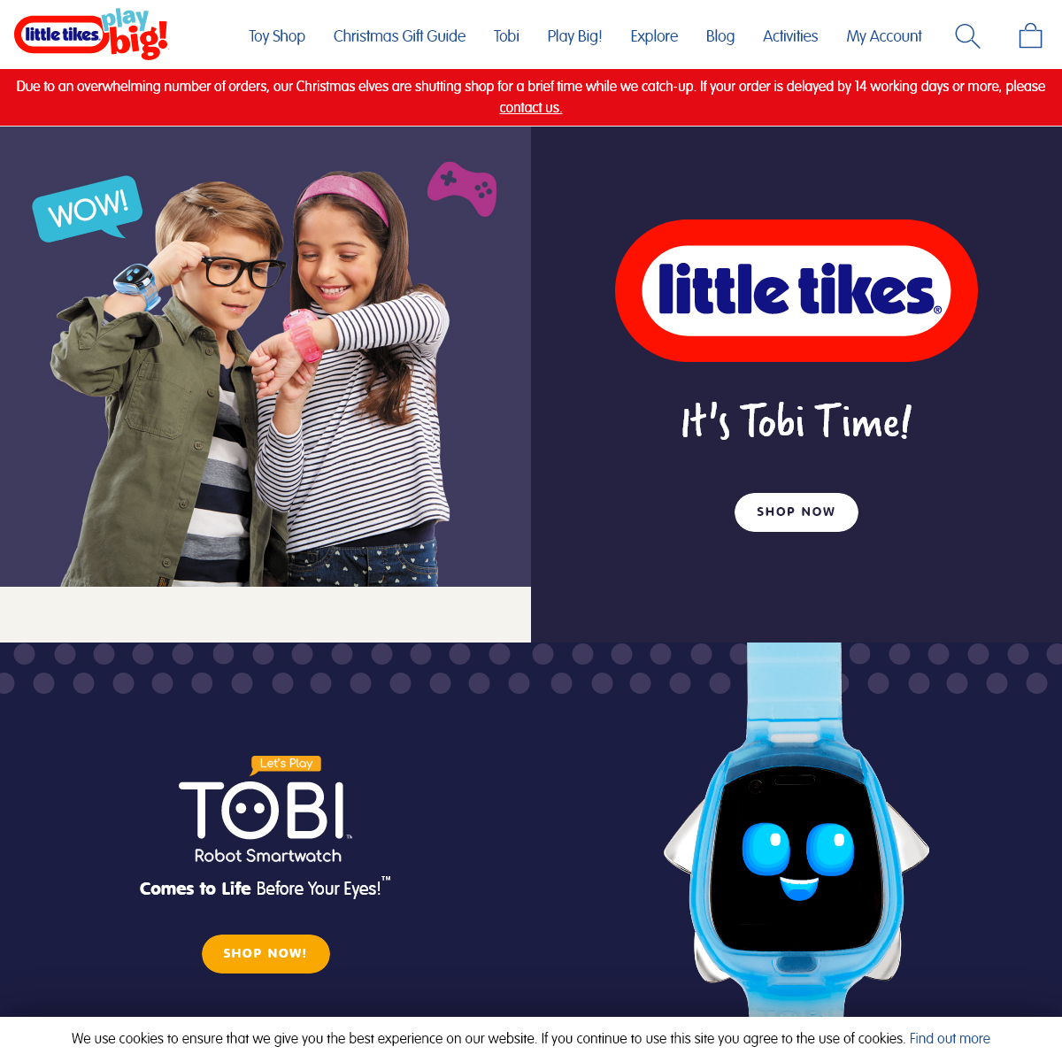 Official Home of Little Tikes UK