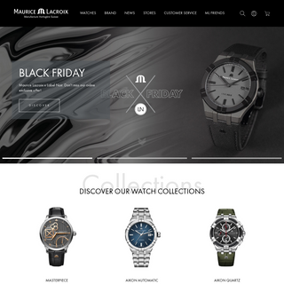 Swiss Luxury Watches for men and women - Maurice Lacroix Watches