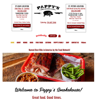 Memphis-style Barbecue - Pappy`s Smokehouse - St. Louis