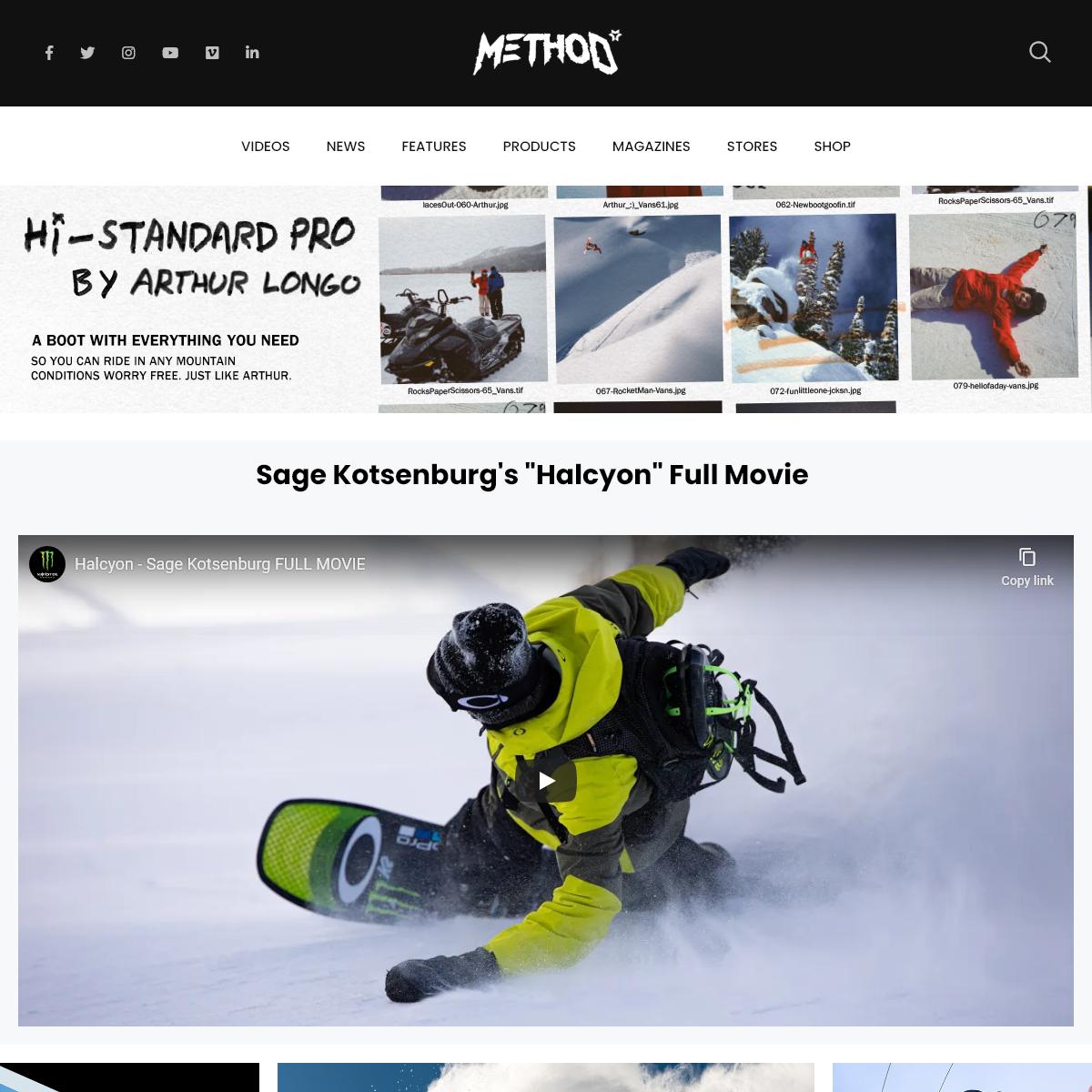 Method Mag Method Snowboarding Magazine