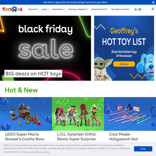 "Toysrus.com, The Official Toys""R""Us Site - Toys, Games, & More"