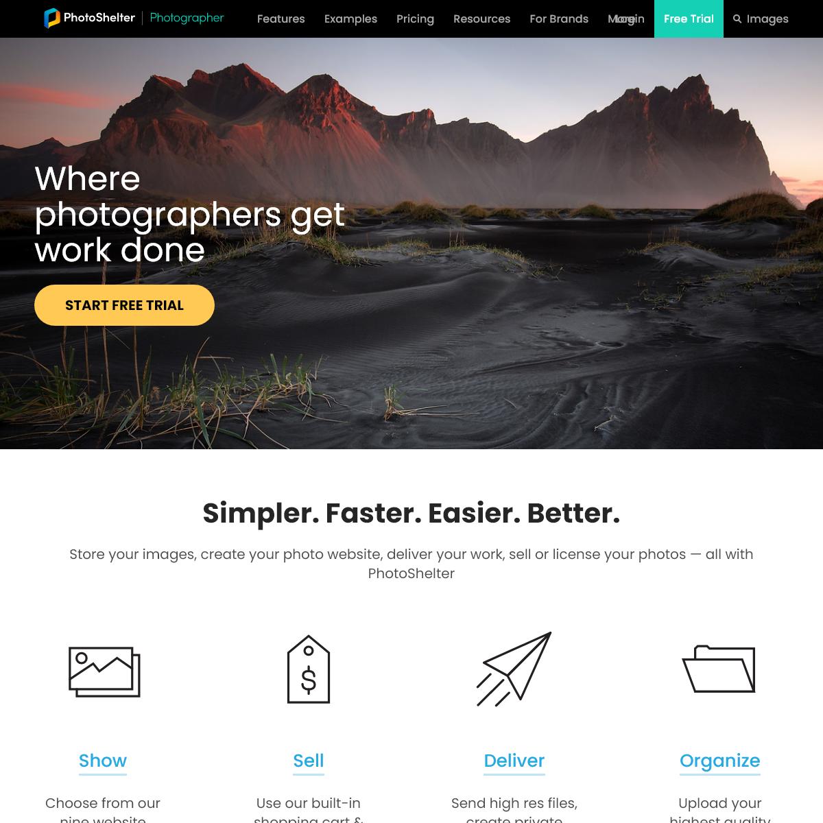PhotoShelter- Photography Websites & Tools for Photographers - PhotoShelter