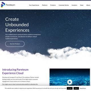 Pareteum - Cloud Communication Platform Built on SDN and NFV