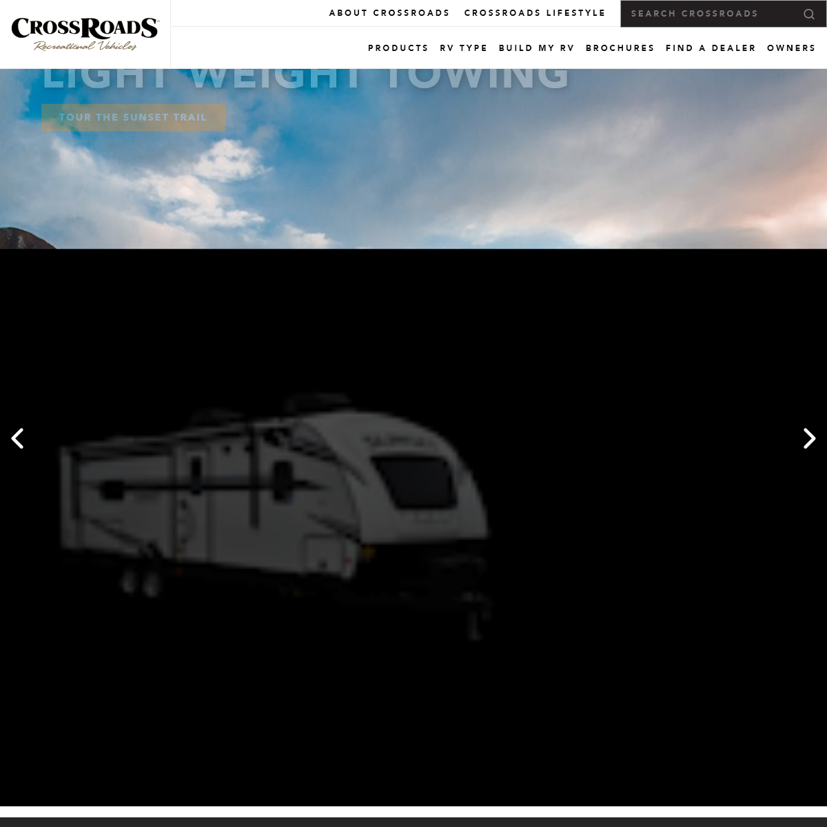 Crossroads RV - Travel Trailers, Fifth Wheels & Toy Haulers