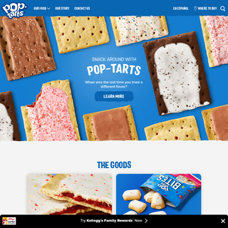 Pop-Tarts® Official Website - Homepage