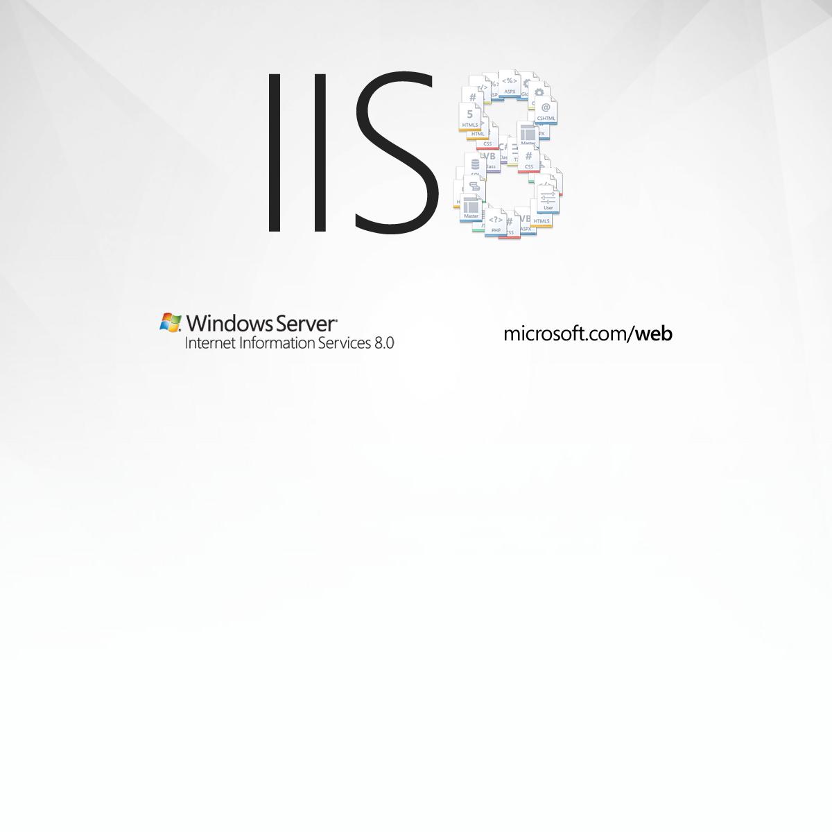 Microsoft Internet Information Services 8