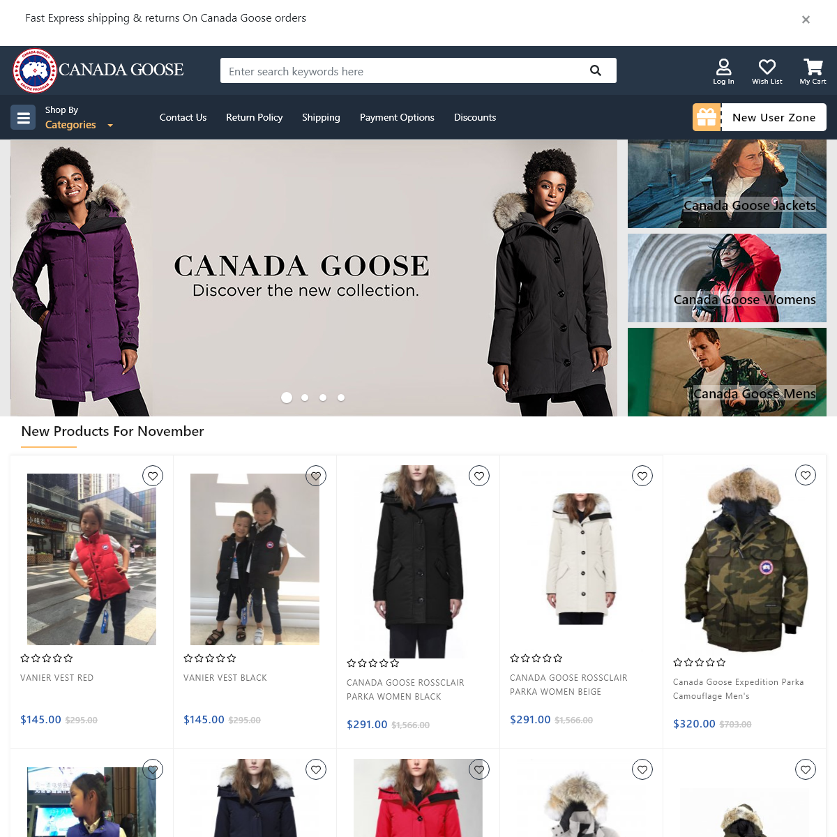 Cheap Canada Goose Outlet Down Jackets - Official Store