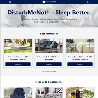 DisturbMeNot! – Sleep Better.