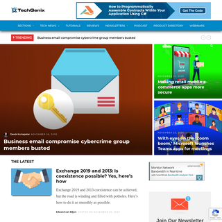 TechGenix - Latest Technology News & Articles - Online Magazine