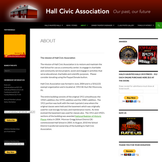 Hall Civic Association - Serving Our Community