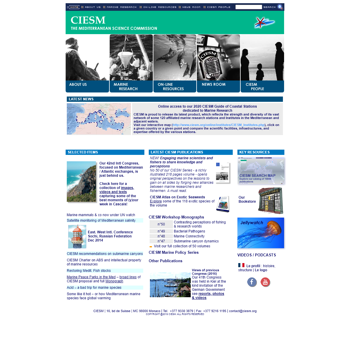CIESM - The Mediterranean Science Commission