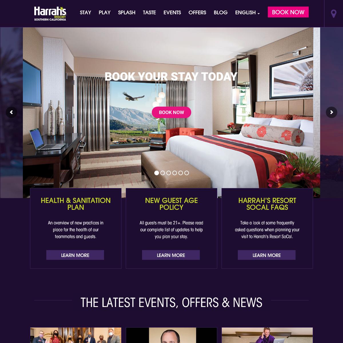Southern California Resort, Spa and Casino - Harrah`s Resort SoCal