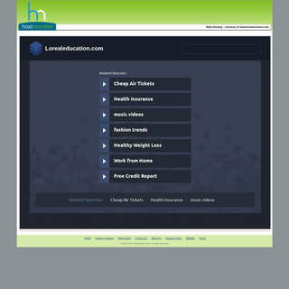 Welcome lorealeducation.com - Hostmonster.com