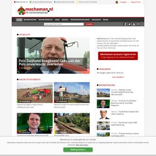 Mechaman.nl - Het mechanisatieportaal
