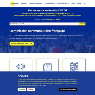 Accueil - Commission communautaire française (CoCoF)
