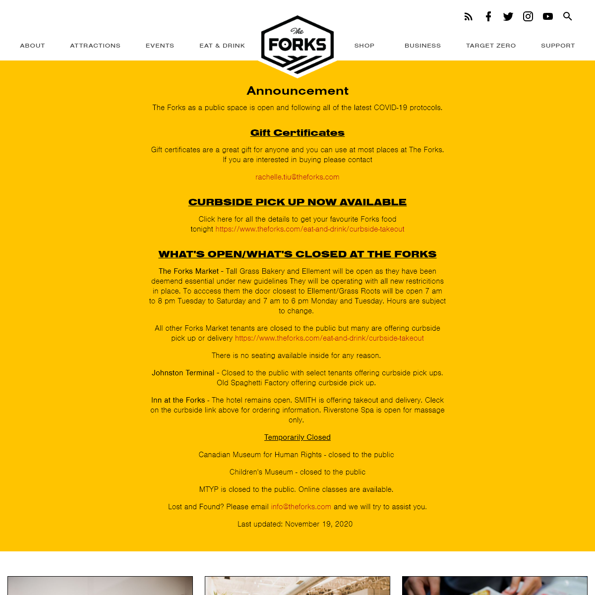 Home Page - The Forks