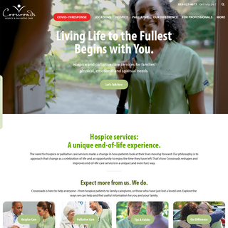Crossroads Hospice- End-of-Life Family Care Services