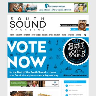 South Sound Magazine - South Sound Magazine