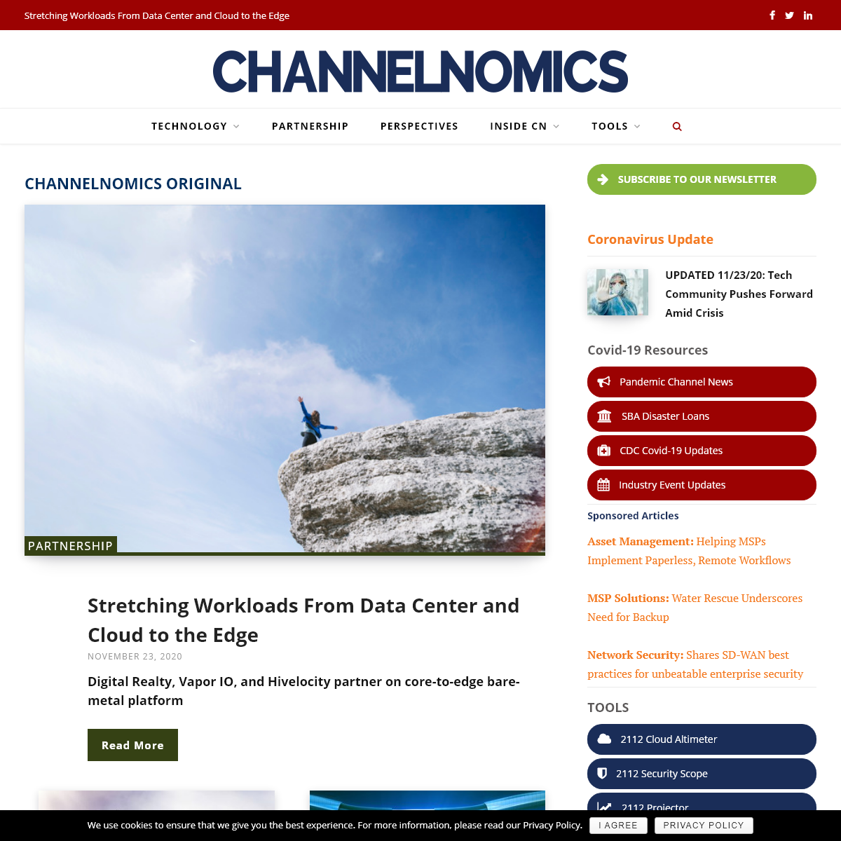 Channelnomics – The source for trends that drive the technology business.