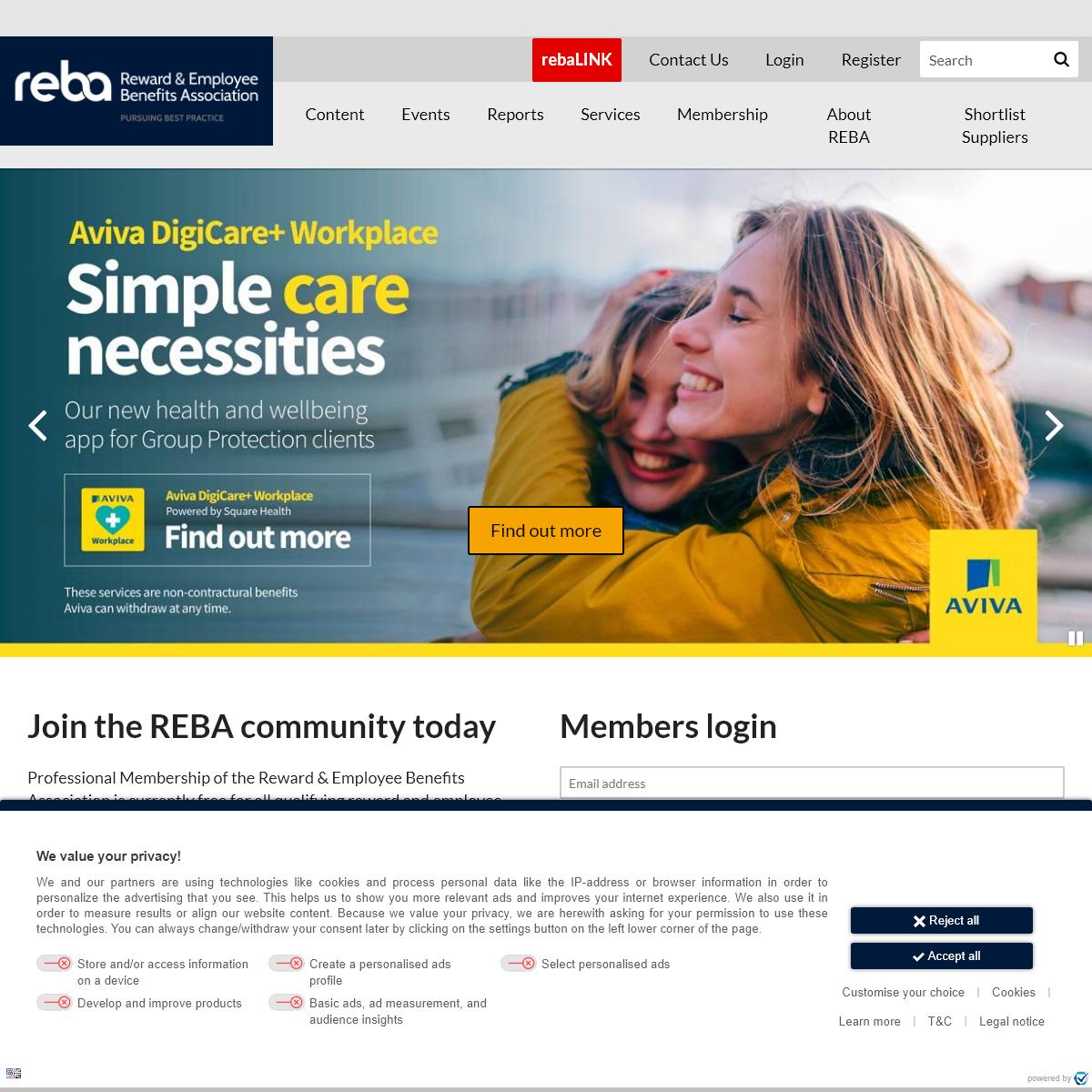 Reward & Employee Benefits Association REBA