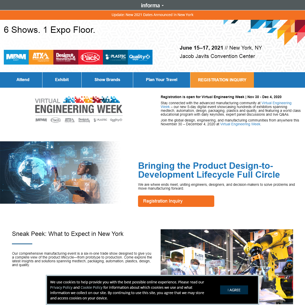 Advanced Manufacturing East