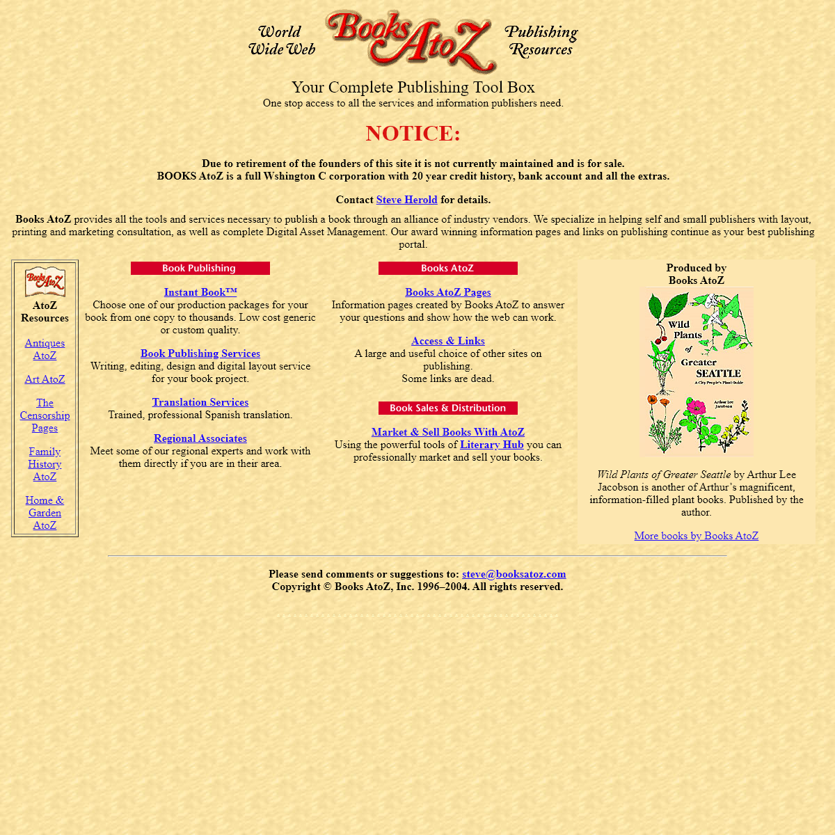 Books AtoZ - Home Page
