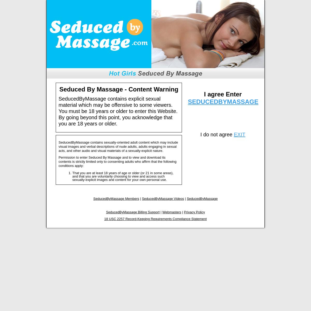 A complete backup of seducedbymassage.com
