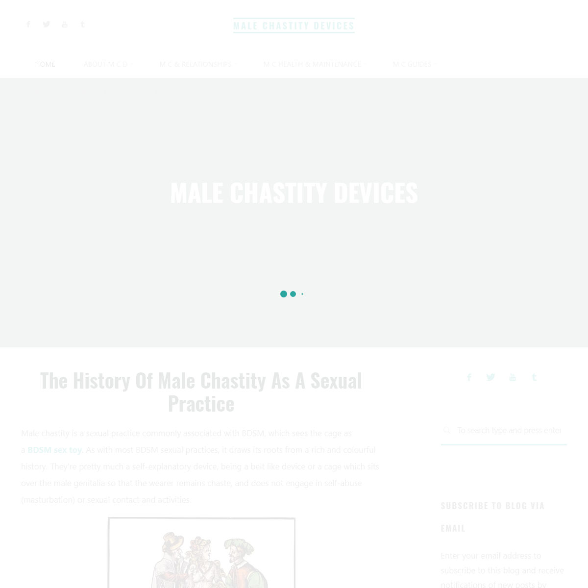 Male Chastity Devices Home Page