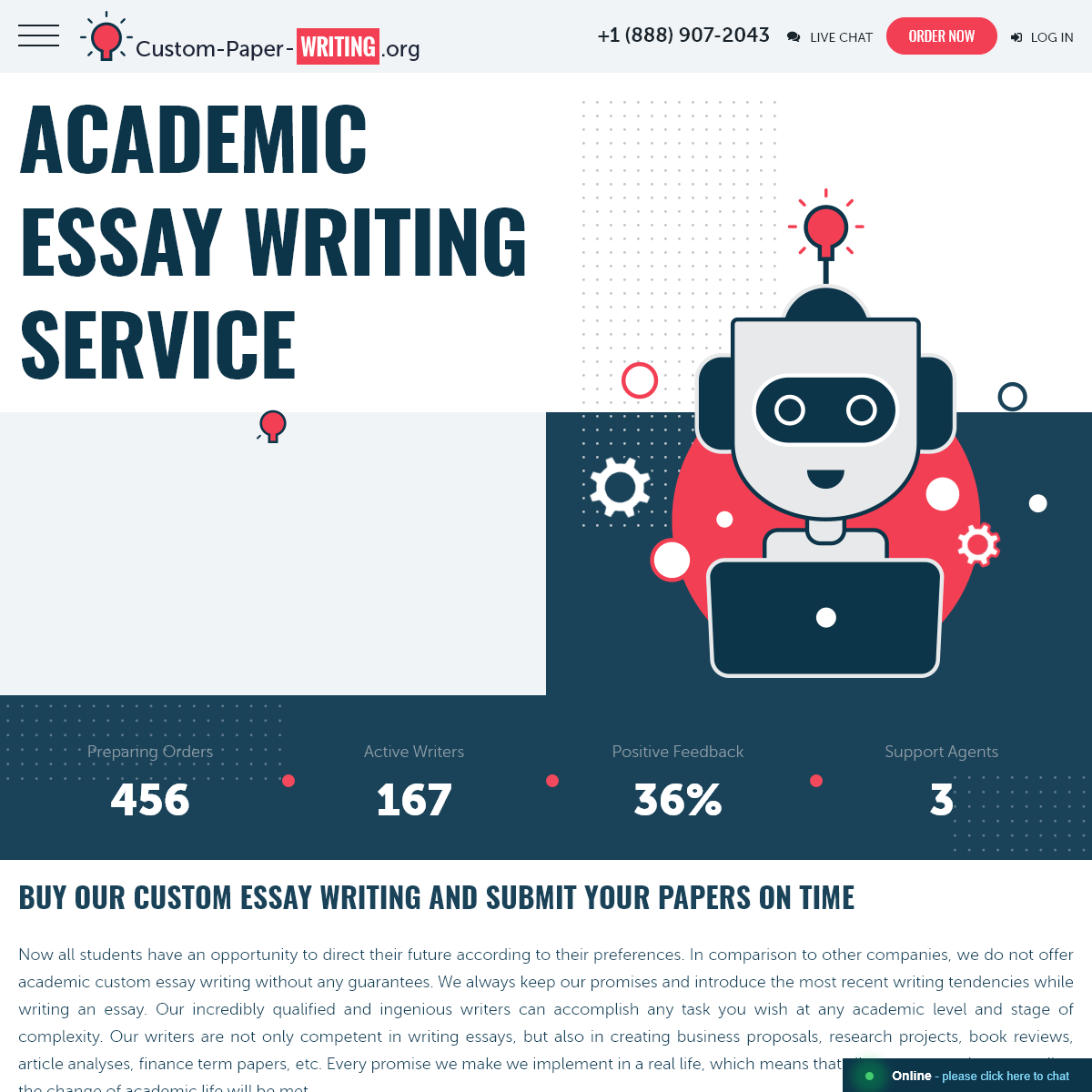 Academic Custom Essay Writing Service - Buy Papers Cheap Online