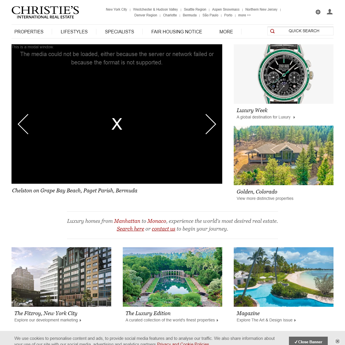 Exceptional Luxury Homes, Real Estate and Properties for Sale - Christie`s International Real Estate