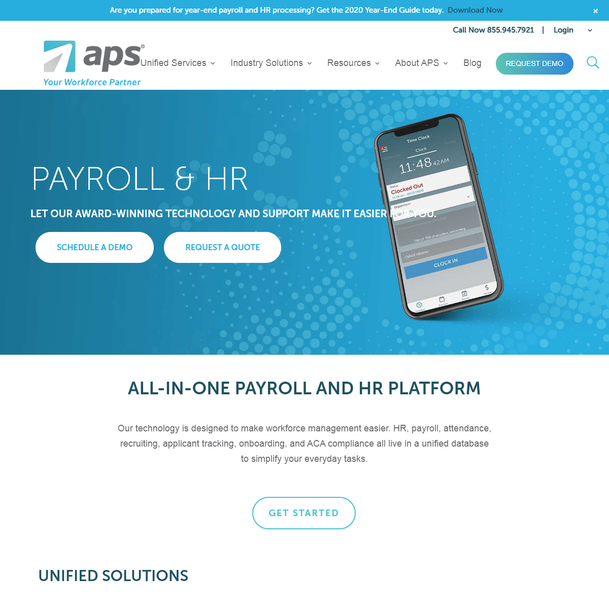 All-in-One Payroll and Core HR Technology - APS Payroll