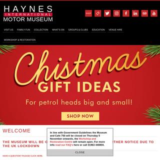 Haynes International Motor Museum -