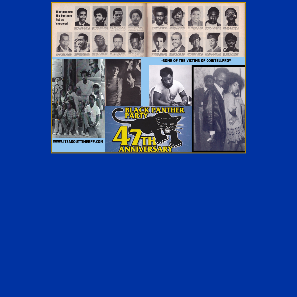 It`s About Time - Black Panther Party Legacy & Alumni 45th Year Reunion