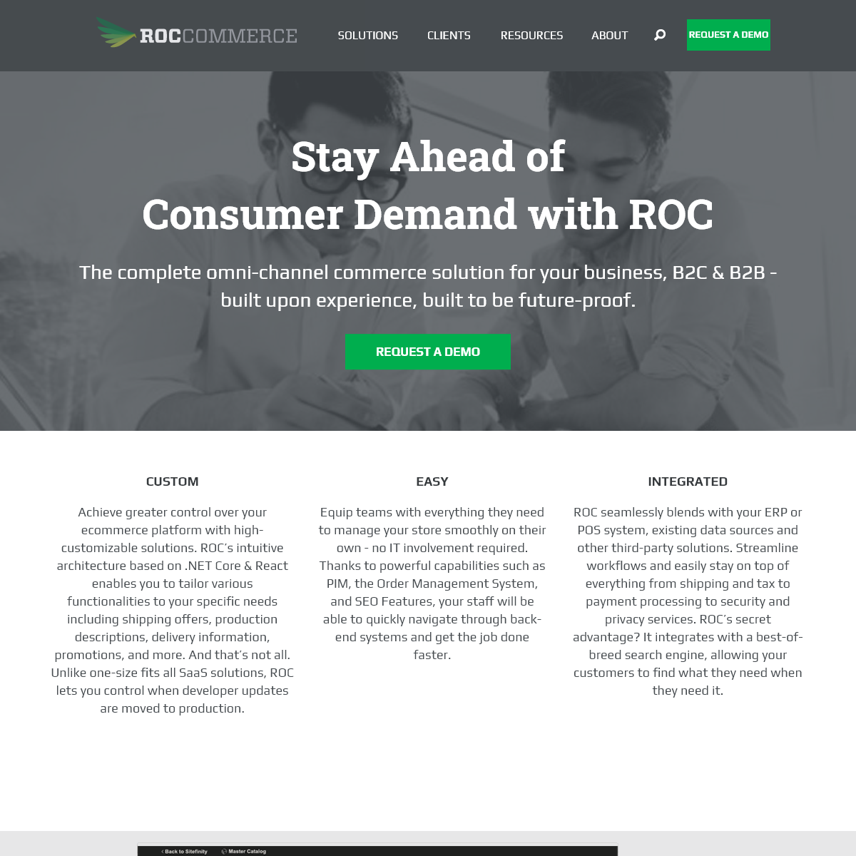 ROC Commerce - E-commerce Technology for Today and Tomorrow