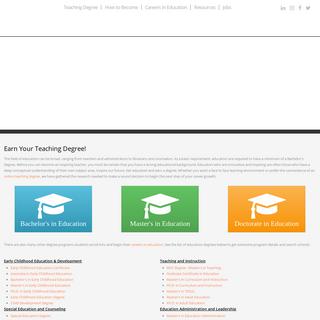 Teacher Education & Careers - Teacher.org